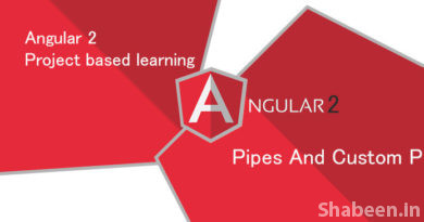 Angular 2 [PART-8 ] Pipes and Custom Pipes