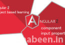 Angular 2 [PART-9 ] Angular component input properties